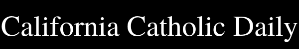 California Catholic Daily Logo